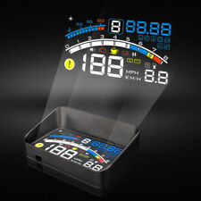 5.5'' Universal OBD2 OBDII Car GPS HUD Head-Up Display Overspeed Warning System