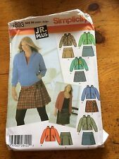 Simplicity JR.Trend Skirt paper sewing pattern.New & Uncut 4893 Size 13/14-21/22