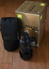 Nikon AF-S NIKKOR 70-200mm f/2.8G ED VR II US BOX CASE Fully CLA'D SHARP shooter