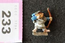 Games Workshop WARHAMMER Norreno Nano con fiocco Nani Figura Metallo Archer fuori catalogo