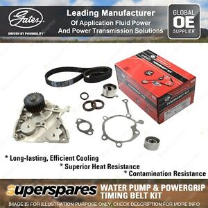 Gates Water Pump & Timing Belt Kit for Kia Credos K9A Sportage K00