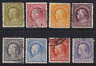 United States 1912-14 Franklin Stamps #414-421  Mostly Used*  Very HICV. See*