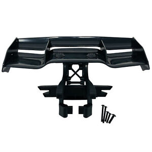 Traxxas E-Revo 2.0 Rear Wing Black 5446 Mount 5411 Rear Bumper wing Mounts 8616
