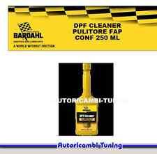 Additivo Motori Diesel x la pulizia filtro particolato FAP Bardhal DPF CLEANER