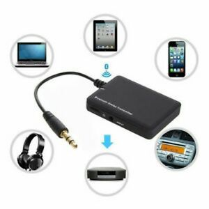 Wireless Bluetooth 4.0 Audio Stereo Music Receiver 3.5mm Car Aux Adapter
