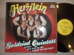 Goldried Quintett / Herzilein MCP Records Vinyl /LP