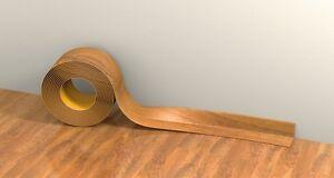 PVC FLEXIBLE SKIRTING BOARD - SELF-ADHESIVE - 15 METER LENGTH - VARIOUS COLORS