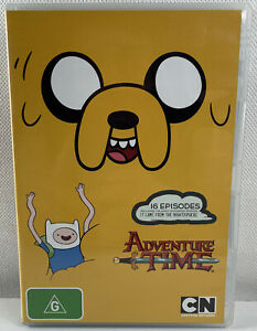 Adventure Time DVD 16 Episodes Region 4 - Free Tracked Postage