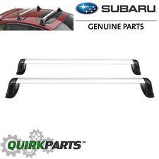 2012-2016 Subaru Impreza Wagon Fixed Roof Rack Crossbar Set OEM NEW E361SFJ000