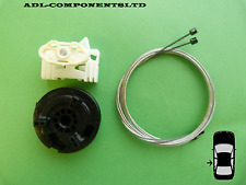 VAUXHALL OPEL MERIVA Window Regulator Repair Kit Rear Left Door 2002-2009
