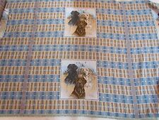 Chocolate Black Yellow Lab Dogs Standard Pillow Sham Tapestry Fabric Panel Tops