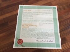 Rolex Vintage Blank 1603 Certificate Guarantee Paper 570.01.300 + Free Shipping