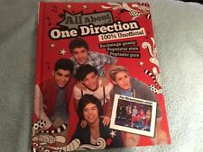 All about One Direction by Parragon Books Staff (2012, Hardcover) First Edition