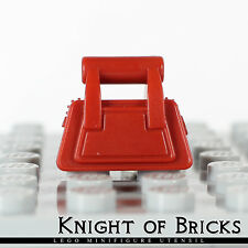LEGO Minifigure DARK RED Utensil Friends Purse Accessories Handbag Zipper