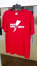2007 Foo Fighters red shirt size Xl band vintage
