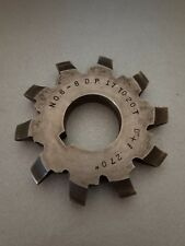 "Used Brown & Sharpe 6-8DP Involute Gear Cutter 17-20T HS .270"" Bore 1D-1166-Y1"