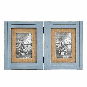 4x6 Frame Picture frame 4x6 Multiple Opening Frame Diptych for Two Photos Free Shipping office desk accessories Engagement gift Frame