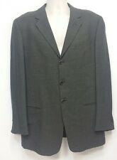 Armani Collezioni Brown & Black 3 Button Wool Sport Coat / Blazer - 42L