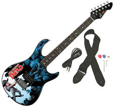 Peavey Rockmaster Full Size The Walking Dead Carl Surrounded 50 Electric Guitar