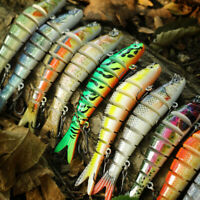 10cm 11g Multi Jointed Simulation Fish Fishing Baits Hard Lures Tackle Tool Hot