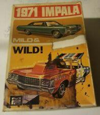 RARE ORIGINAL MPC 1971 CHEVROLET IMPALA Mild & Wild 1-7103