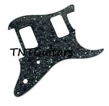 Strat HH FLOYD ROSE Pickguard, SoCal Charvel Style So Cal FR BLACK PEARL CLASSIC