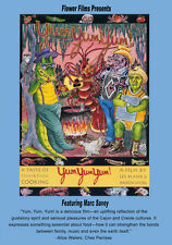 Les Blank Yum Yum Yum DVD 1990 Cajun Creole Food Documentary from Flower Films