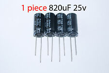 Capacitor Rubycon 820uF 25v 105C 10x20mm. Radial. US Seller