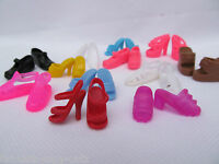 BARBIE DOLL SIZED CLOTHING 9 PAIRS QUALITY SILICONE CUTE SHOES BOOTS UK SELLER