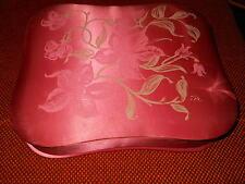 Scatola in raso rosa antico Creazioni Antonella by Italy – Vintage – cm. 6x29x24