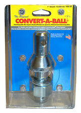 "Convert-A-Ball 102B 1"" Dia. Shank Nickel Plated, Rated 10,000 lbs."