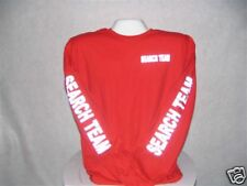 Search And Rescue T-Shirt, Reflective Search Team, Search Team L/S T-Shirt,,XXXL