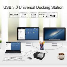Wavlink Universal USB3.0 Dual Video Docking Station&Gigabit Ethernet&USB Hub