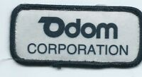 Odom Corporation patch  1-5/8 X 3-5/8 #1087