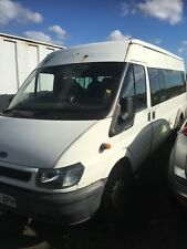 Ford Transit 17 Seater Minibus 2.4 125 Bhp Breaking For Spares