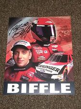 Greg Biffle Signed In Person Grainger Hero Card