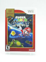 Super Mario Galaxy Nintendo Selects Nintendo Wii With Manual Tested Free Ship
