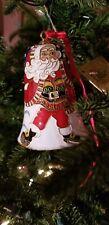 Vintage Dillards 2003 Enameled Cloisonne Bell Christmas Ornament