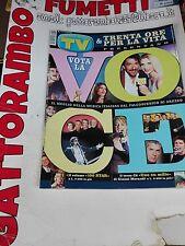 Tv Sorrisi e Canzoni N. 39 Columbro-Cuccarini anno 2000  - Mondadori Ottimo