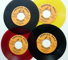 5 DISCS lot of 4 x 45rpm This love of ours / To the fair DOO WOP Near-MINT e7454