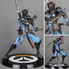 Overwatch Genji Shimada Deflect Swift Strike Dragon Figure Statue Model No Box