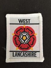 West Lancashire UK Scout cloth badge