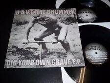 """D.A.V.E. The Drummer """"Dig Your Own Grave E.P."""" 2x12""""EP Smitten – SMT 46"""