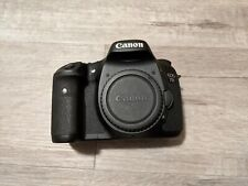 Canon EOS 7D 18.0MP Digital SLR Camera - Black (Body Only) Excellent Condition