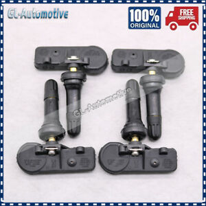 4x TPMS 68293199AA Tire Pressure Monitor Sensors For 2019 Dodge Ram 1500 DT