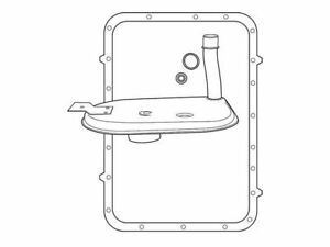 For 2004-2008 Pierce Mfg. Inc. Custom Automatic Transmission Filter Kit 32445PK