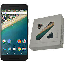 BNIB LG Google Nexus 5X H791 32GB Carbon Black Factory Unlocked 4G/LTE OEM Boxed