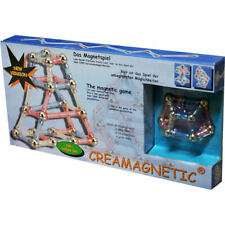 Magnetspiel Magnetbaukasten Magnet Baukasten Kreativset Magnetspielzeug 104 tlg.