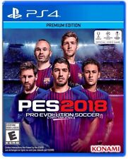 Pro Evolution Soccer 2018 Premium Edition PES 18 For Sony Playstation 4, PS4 PRO