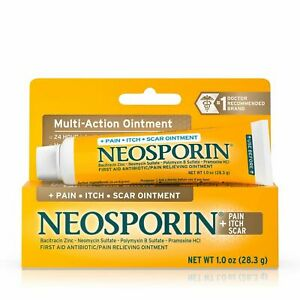 Neosporin Anitbiotic  + Pain, Itch, Scar Antibiotic Ointment Free EU Shipping